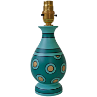 lamp_vase_-_spotty_green