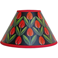 lampshade_-_tulips_red