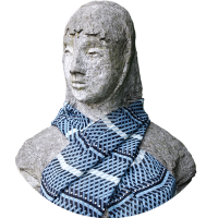scarf_-_herringbone_-_black_grey_white_447260606