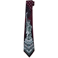 statue_of_liberty_tie_burgundy