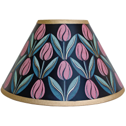 lampshade_-_tulips_pink_gold