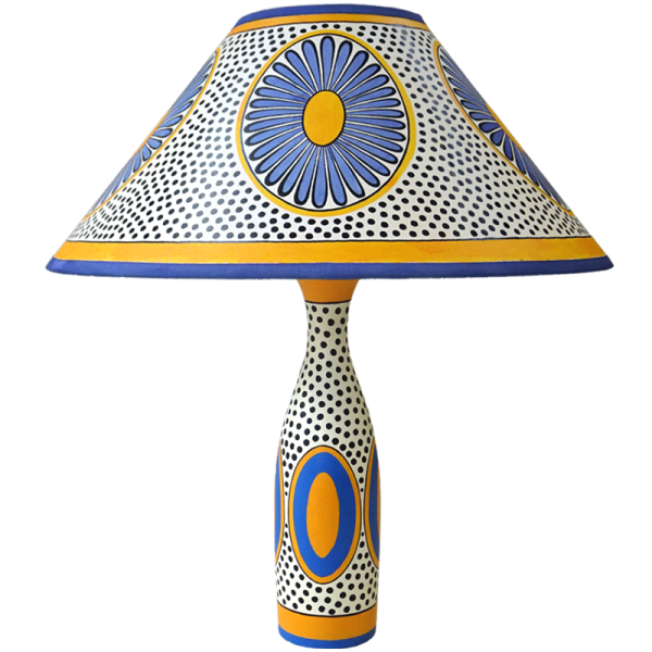 lamp_and_shade_-_daisy_blue_yellow