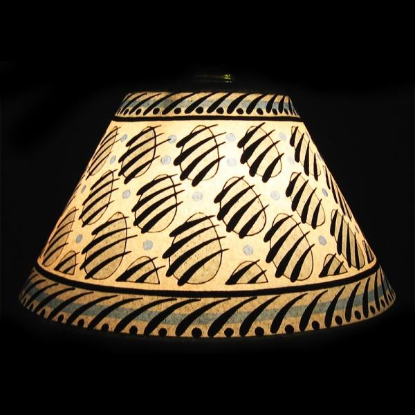 lampshade_-_paw_print_blue_10_inch_-_lit_up