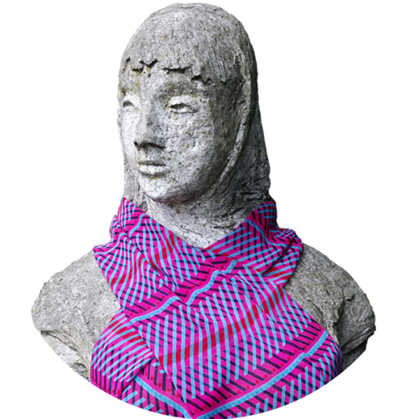 scarf_-_herringbone_-_pink_red_blue_1040799397